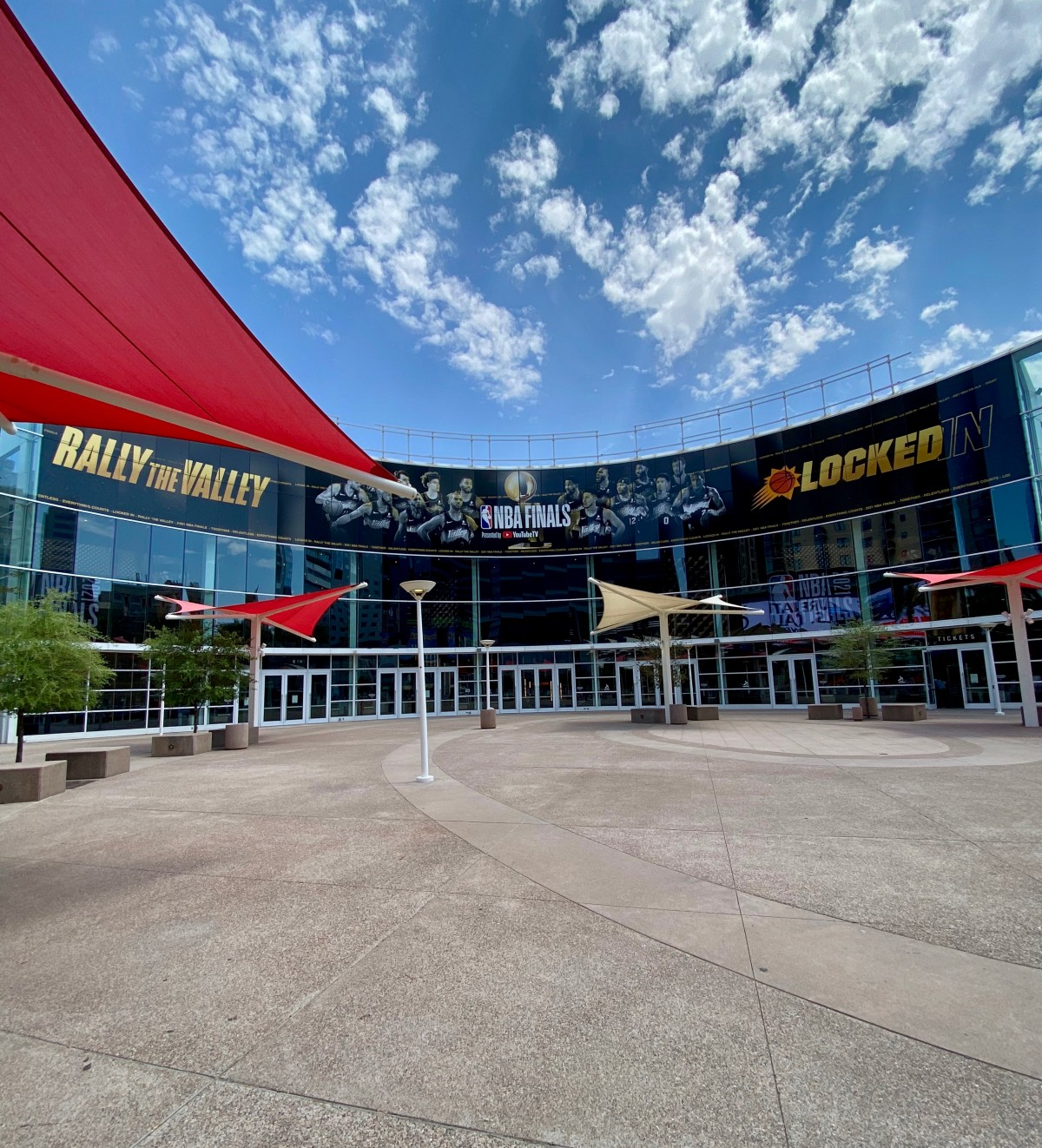 Take an inside look at the NBA Top Shot VIP Experience at the Phoenix Suns game during the 2021 NBA Finals.