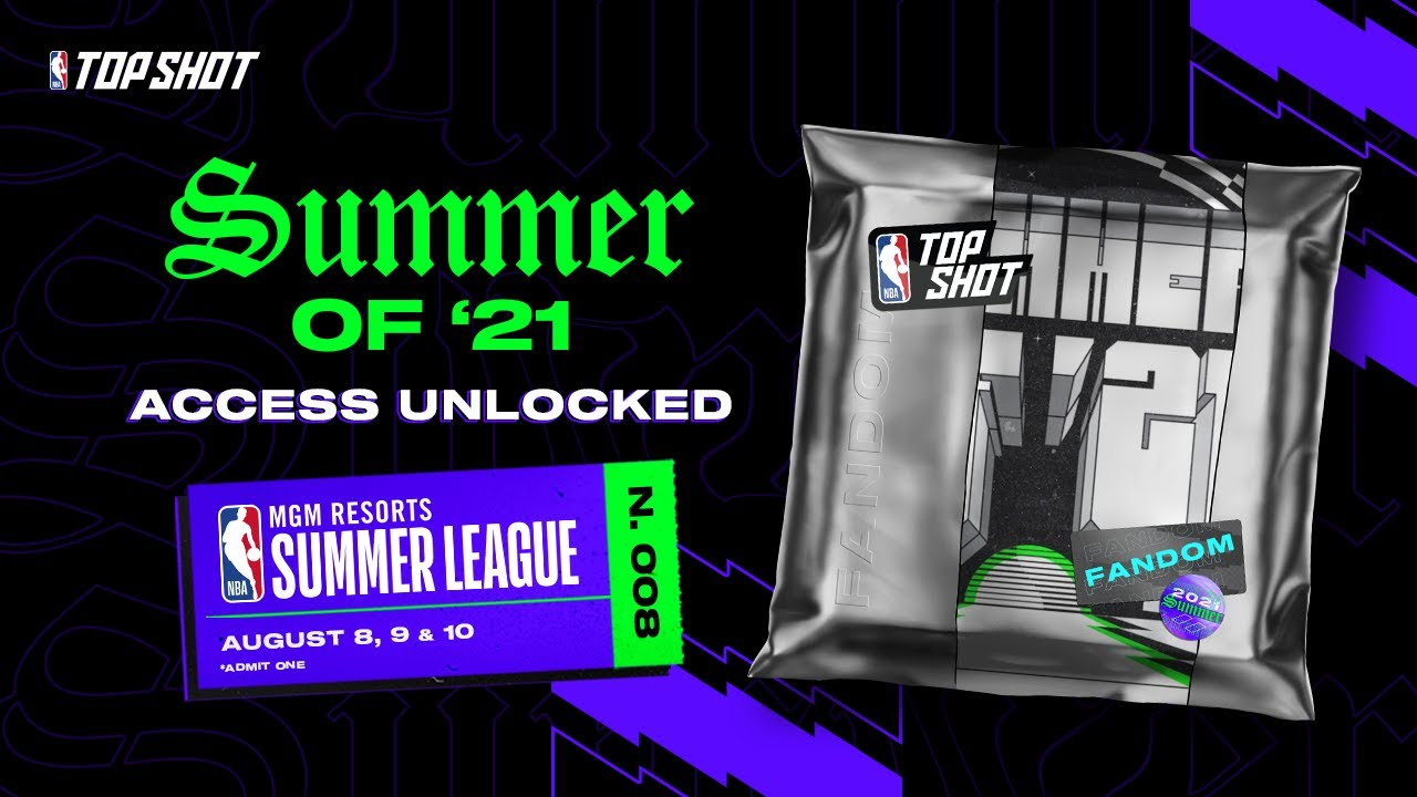 NBA Top Shot to sell exclusive Moments at NBA Summer League games on Aug. 8, 9 and 10.