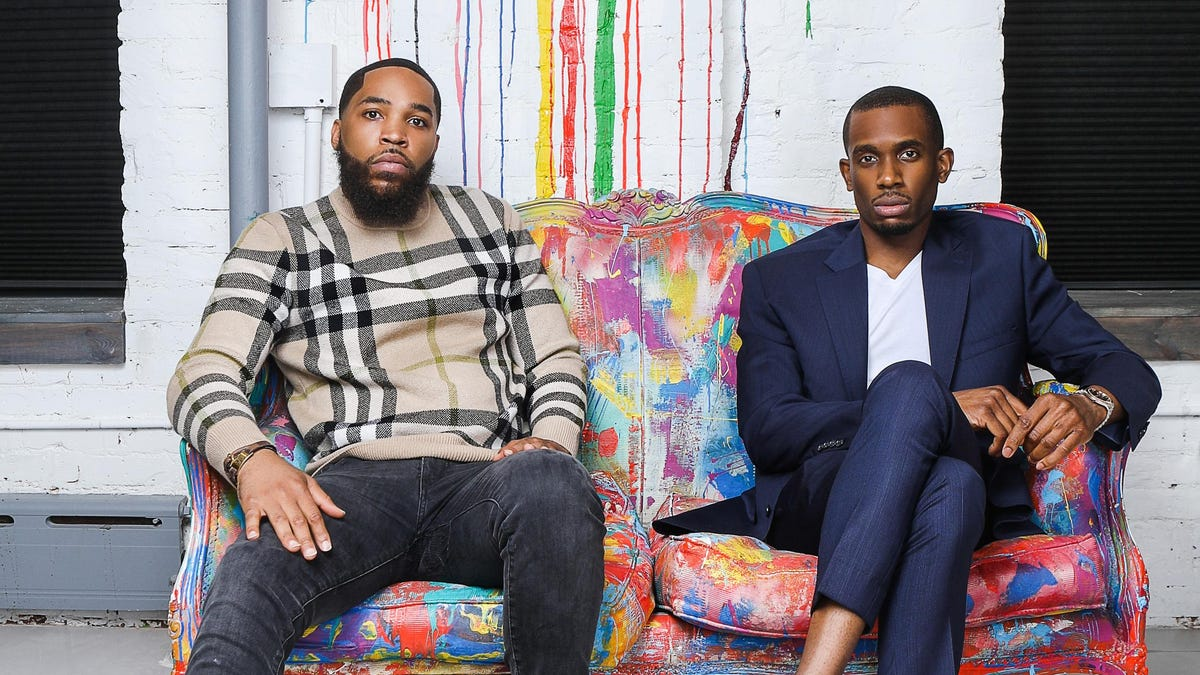 At Eonxi, Sherrard Harrington and Aaron Wilson are trying to blend startup investing with a social conscious.