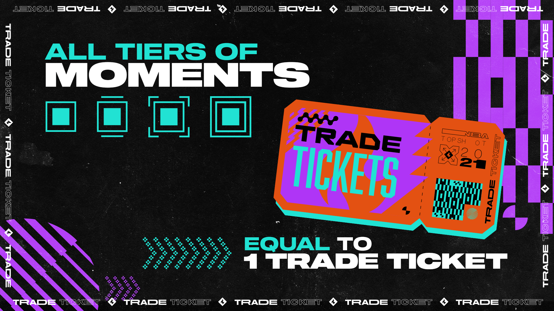 Last week, NBA Top Shot finally unveiled the much-anticipated Trade Ticket feature on its website. Trade Tickets can then be used to purchase packs that can only be purchased exclusively through these tickets. Basically, it's like swapping Moments you don't really love or value for a chance to snag an all-new set of Moments through a new pack.
