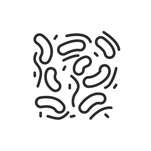 Microbes Cartoon Abstract Icon