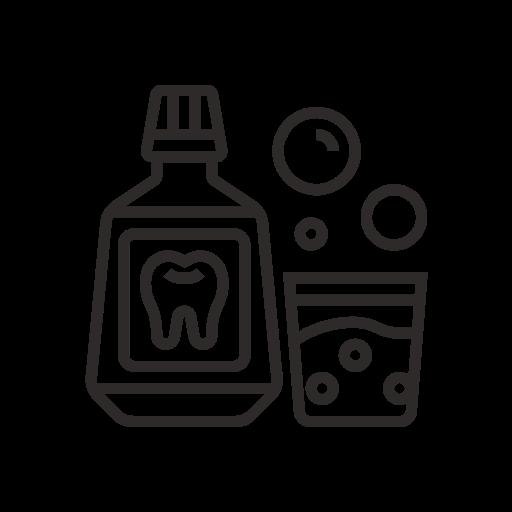 Mouthwash Cartoon Icon