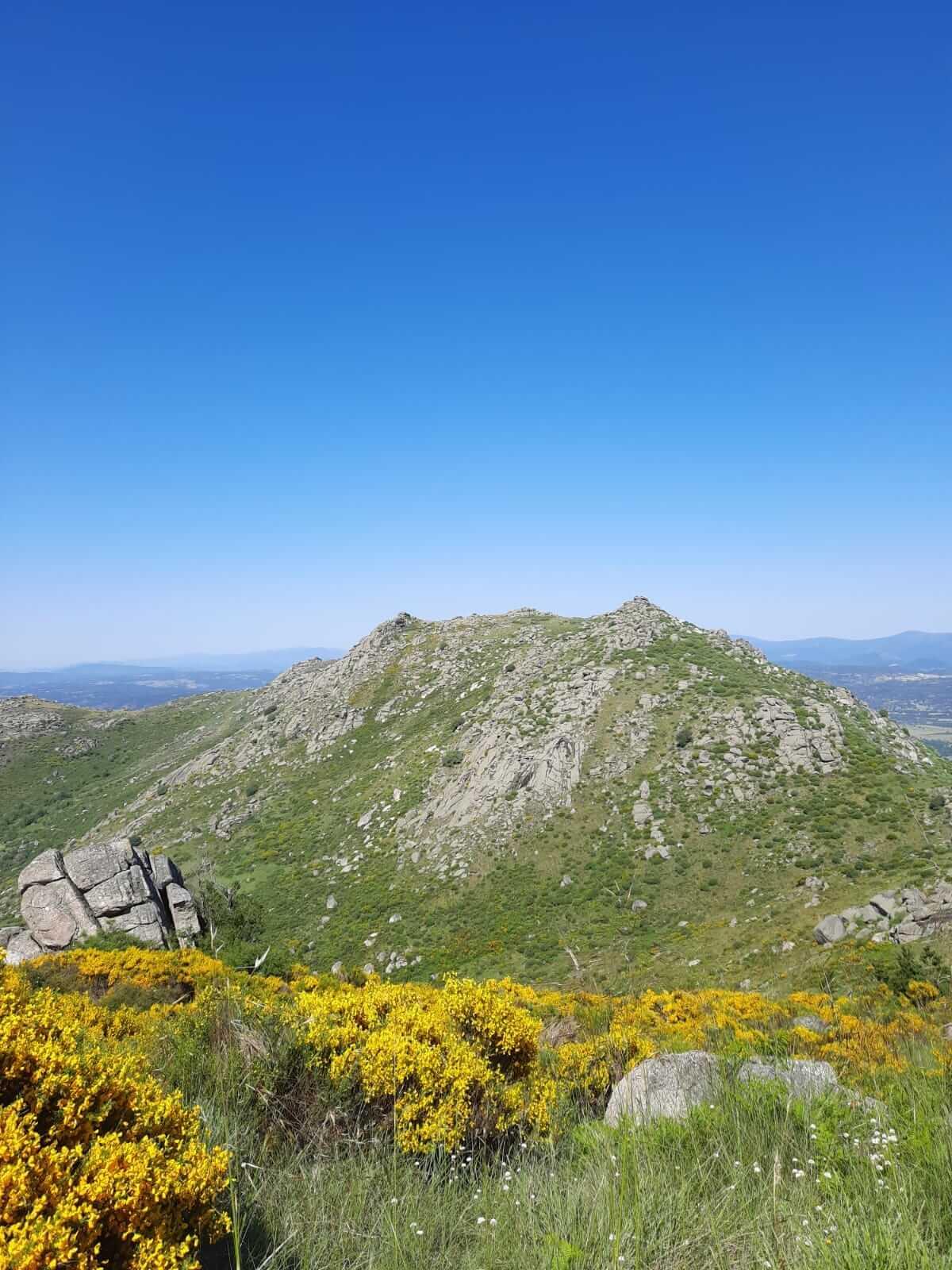 picos de Valdesangil en Béjar