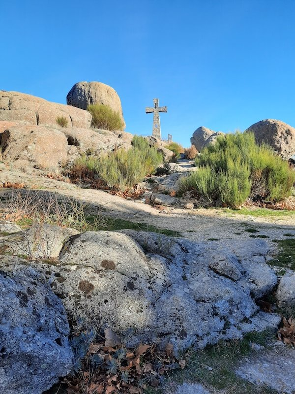 Peña de la Cruz en Béjar Salamanca