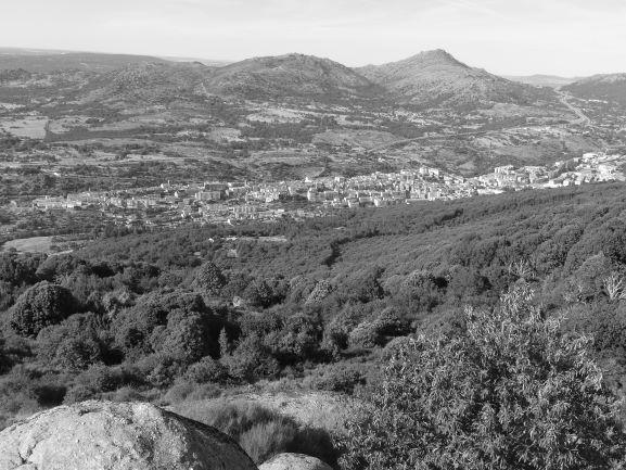Vista de la Sierra de Béjar