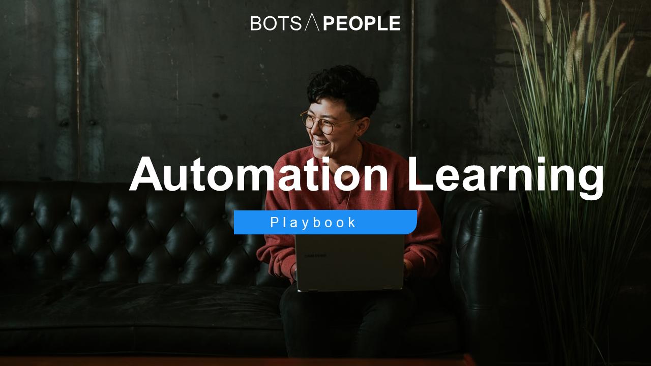 Lade dir jetzt das Automation Learning Playbook herunter und beginne mit den ersten Schritten auf deiner Process Automation Journey!