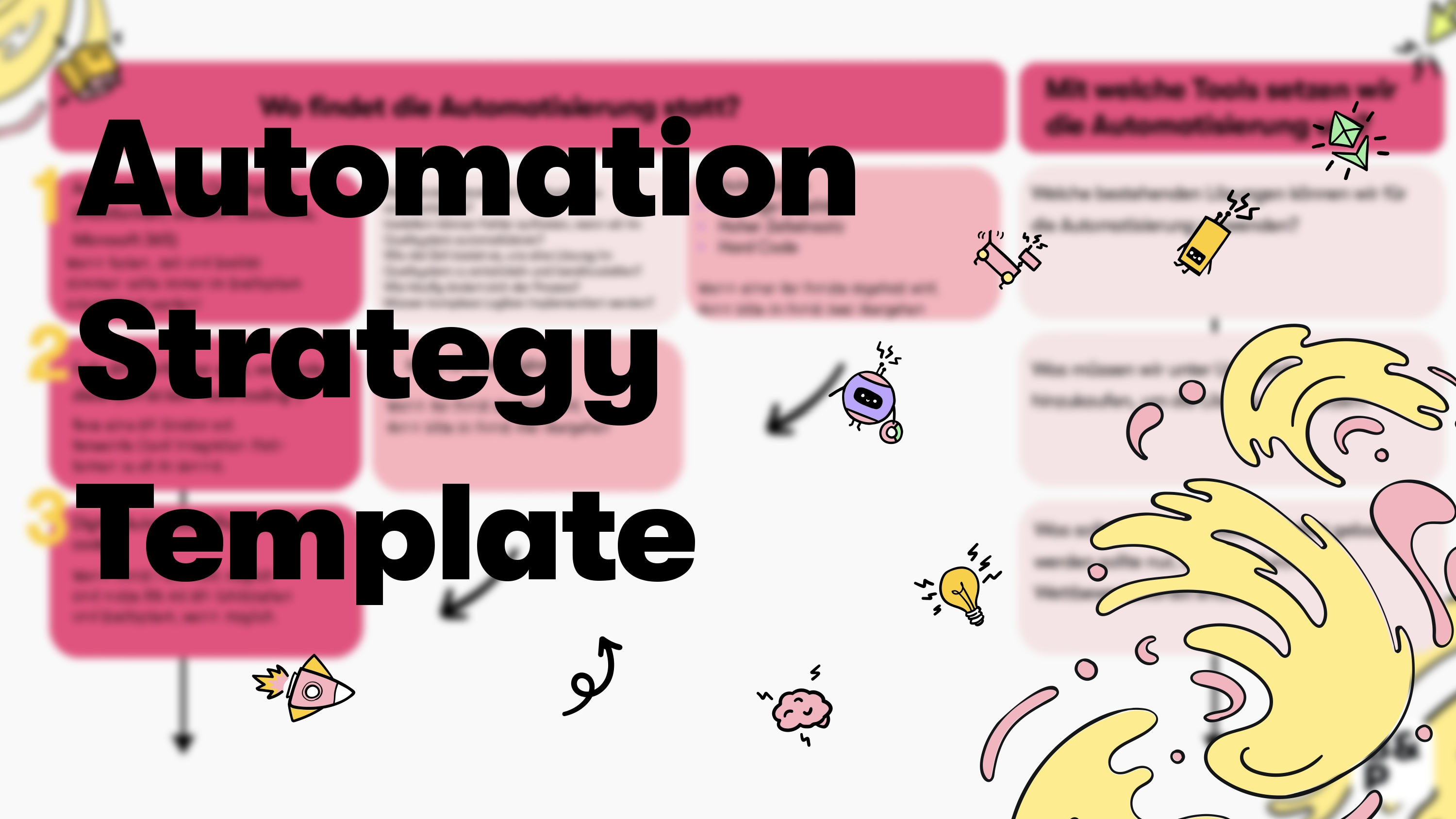 Automation Strategy Template