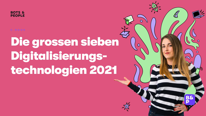 Digitalisierungstechnologien 2021