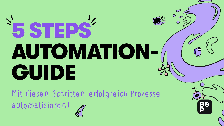 Prozesse automatisieren: 5 Schritte zum Erfolg ✔