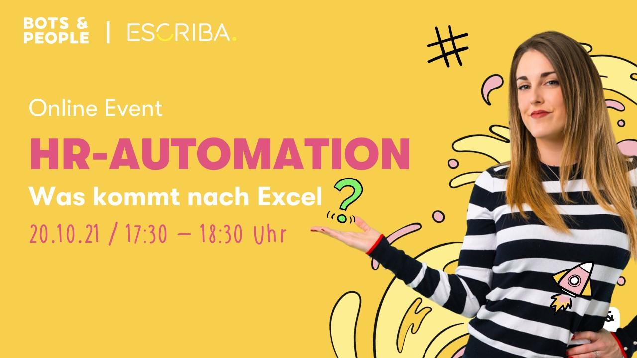 HR-Automation: Was kommt nach Excel?