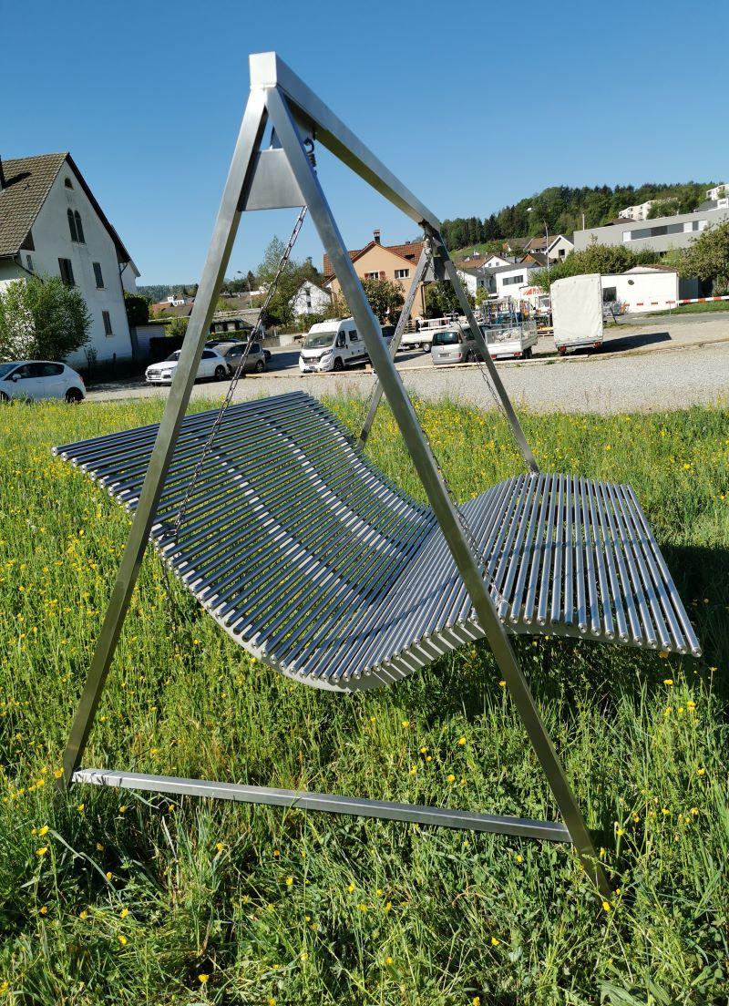 mse ag parkbaenke aus aluminium robust stabil konstruktion langlebig