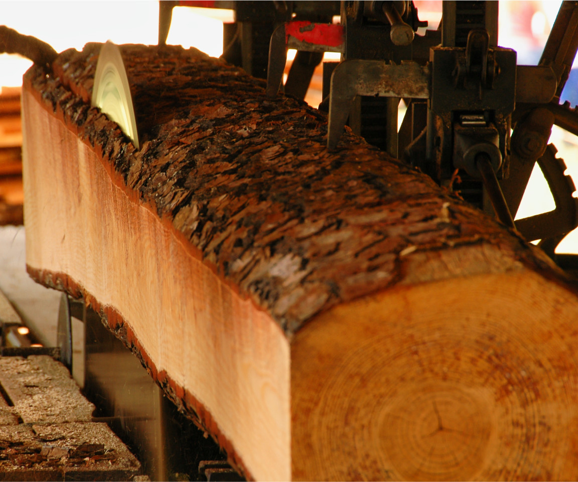 Specialized sawmill services