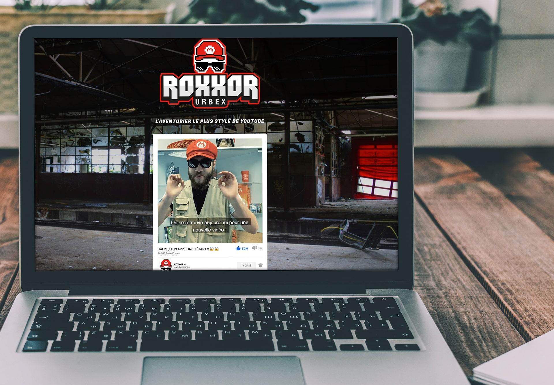 Webdesign de l'application Web d'Entrepôt 13 sur un ordinateur portable