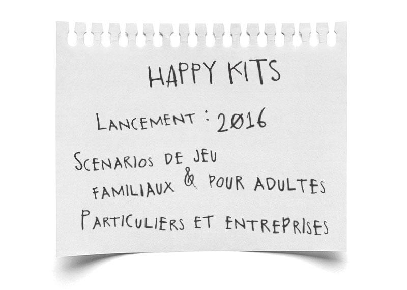 Paroles d'escape - Happy Kits, escape game à domicile
