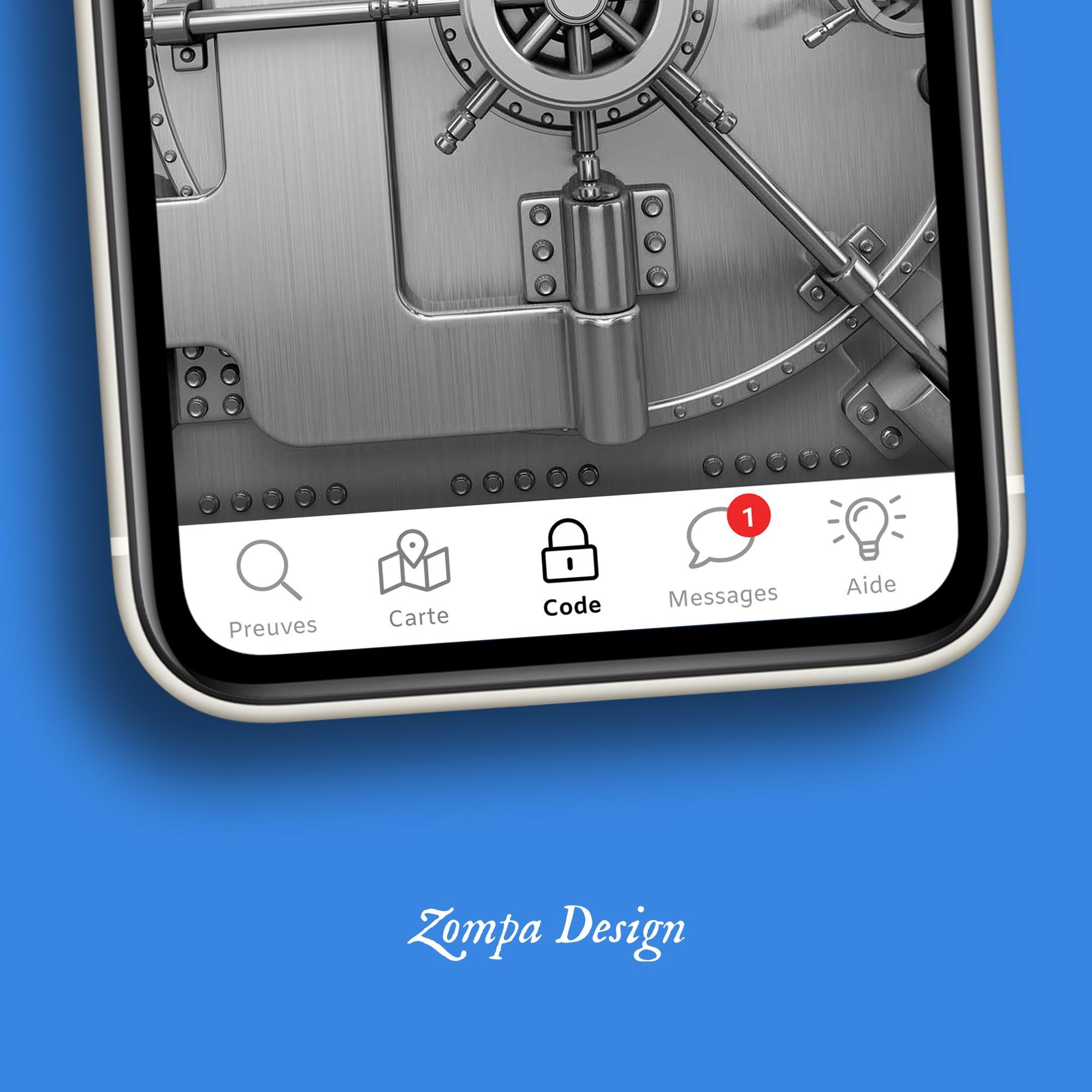 Une navigation intuitive pour l'expérience joueur de l'escape game sur mobile