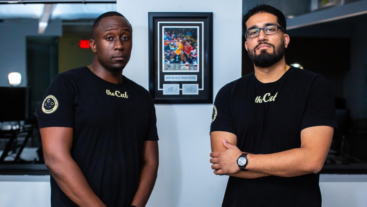 Obi Omile, Jr. and Kush Patel, co-founders of theCut