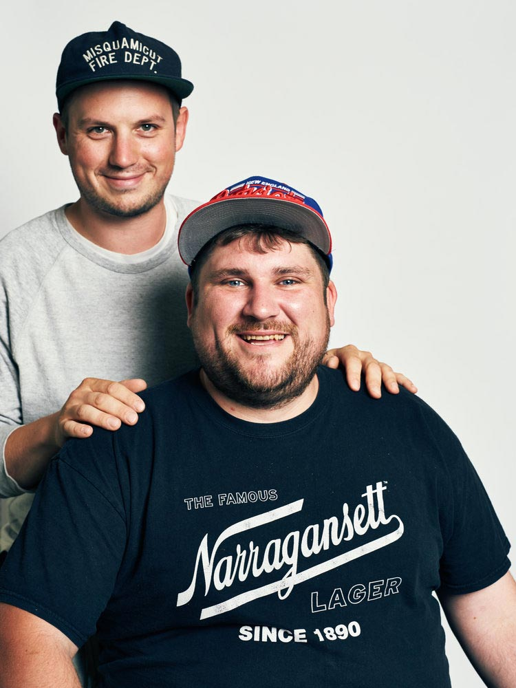 Founders of Dune Brothers, Jason Hegedus and Nicholas Gillespie