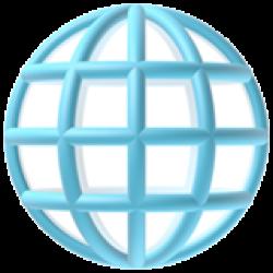 A globe emoji