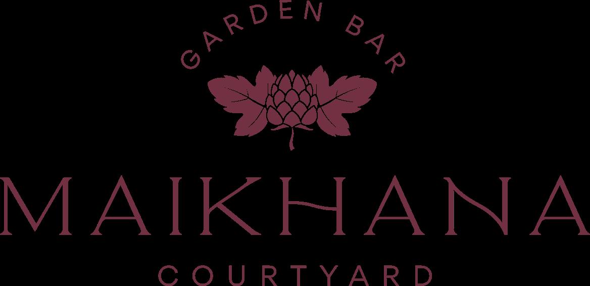 Maikhana Courtyard Garden Bar Logo