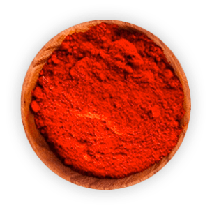 Chilli powder ramikan
