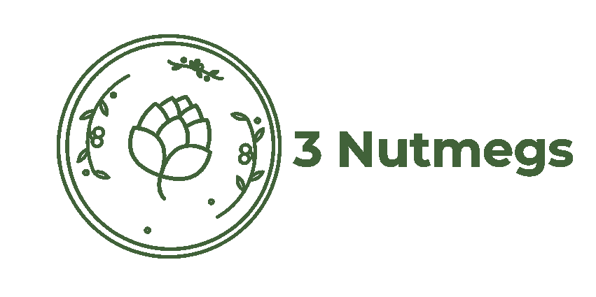 Green 3Nutmegs logo