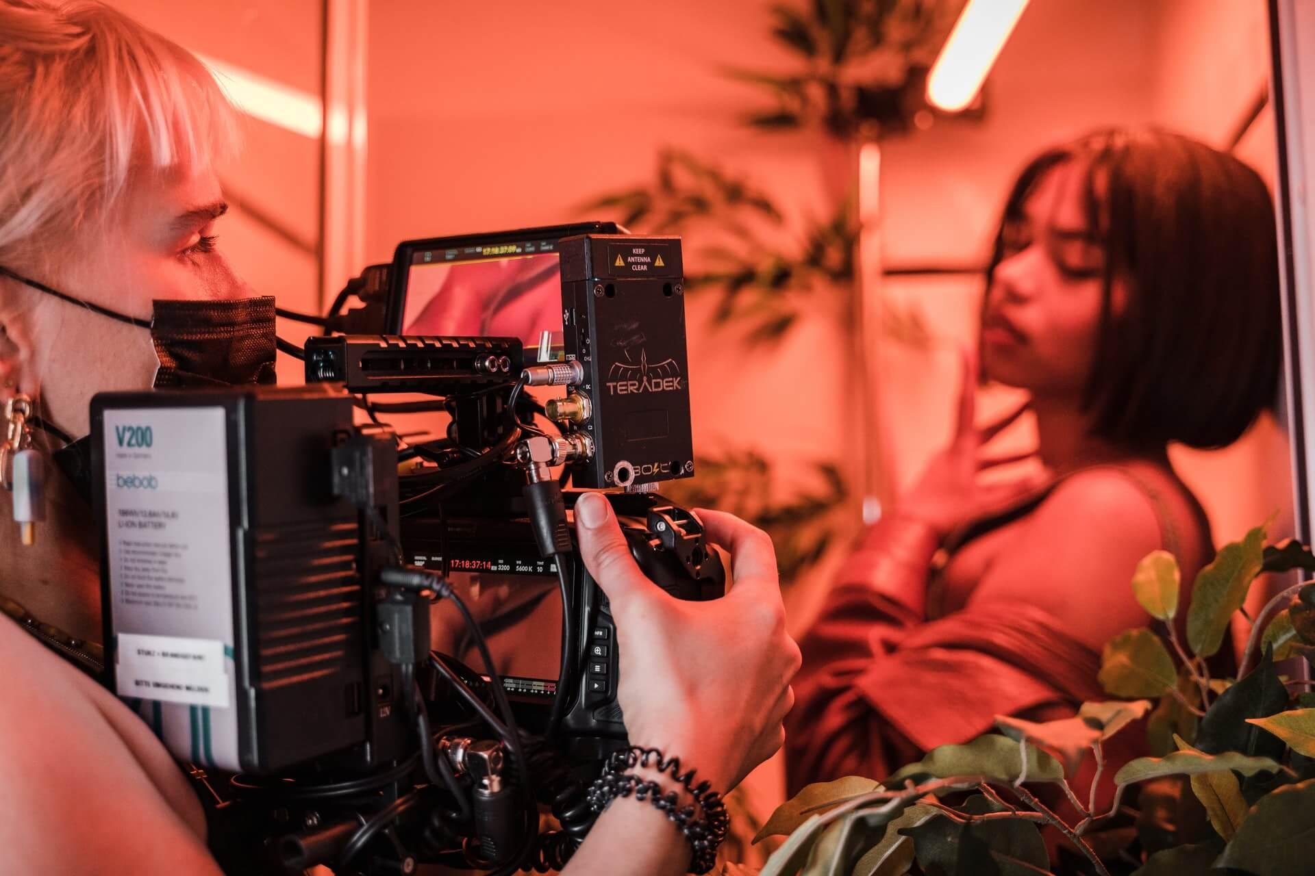 Production video audiovisuelle
