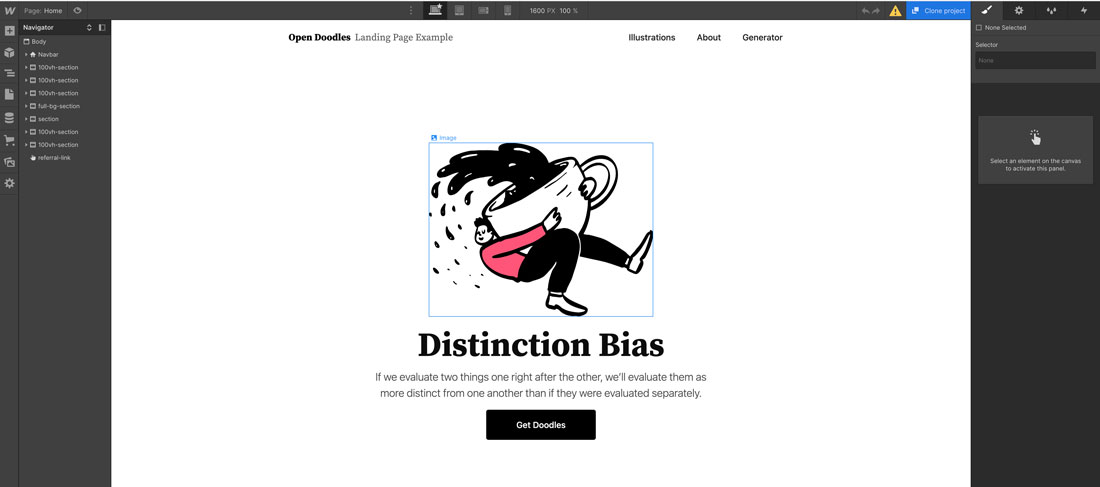 Webflow designer meilleur CMS