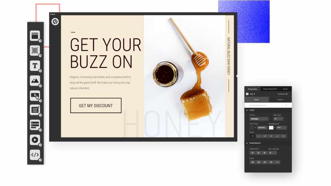 Page builder Unbounce