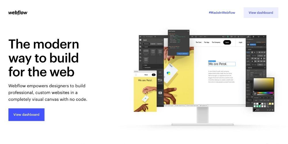 Webflow meilleur cms