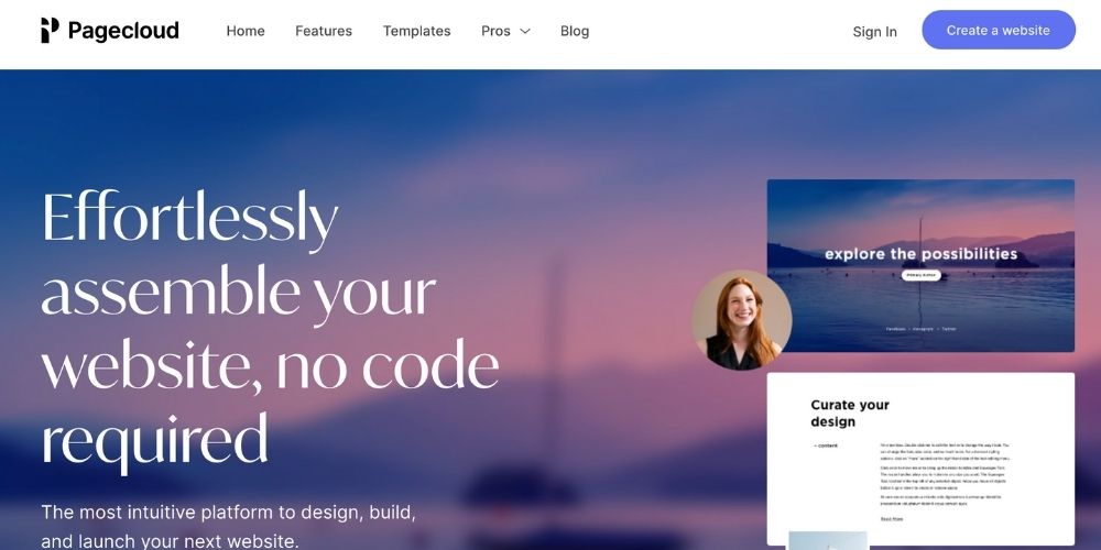 Pagecloud CMS et page builder