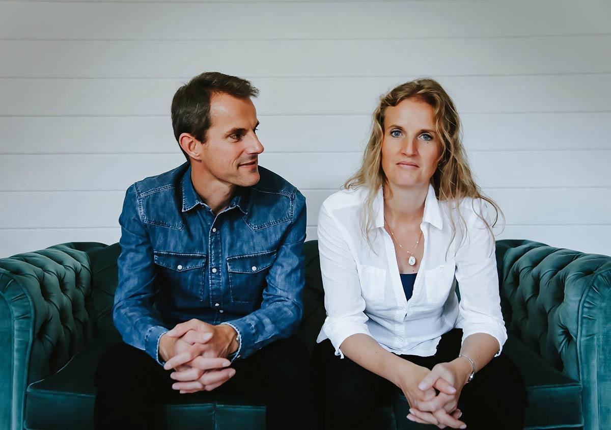Mark and Nathalie Bowley