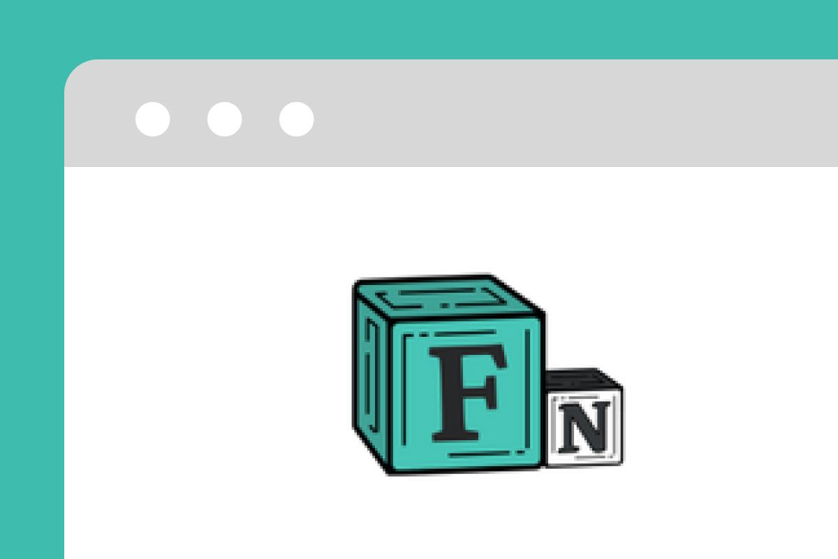 Freelance Notion landing page