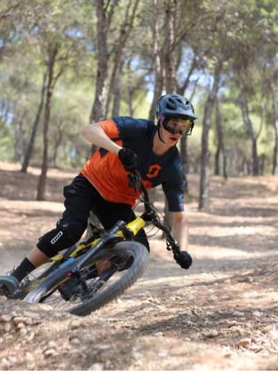 Oscar Alda. Joven promesa de la bici.