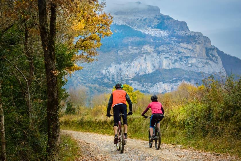 Rutas en BTT en el corazón de los Pirineos
