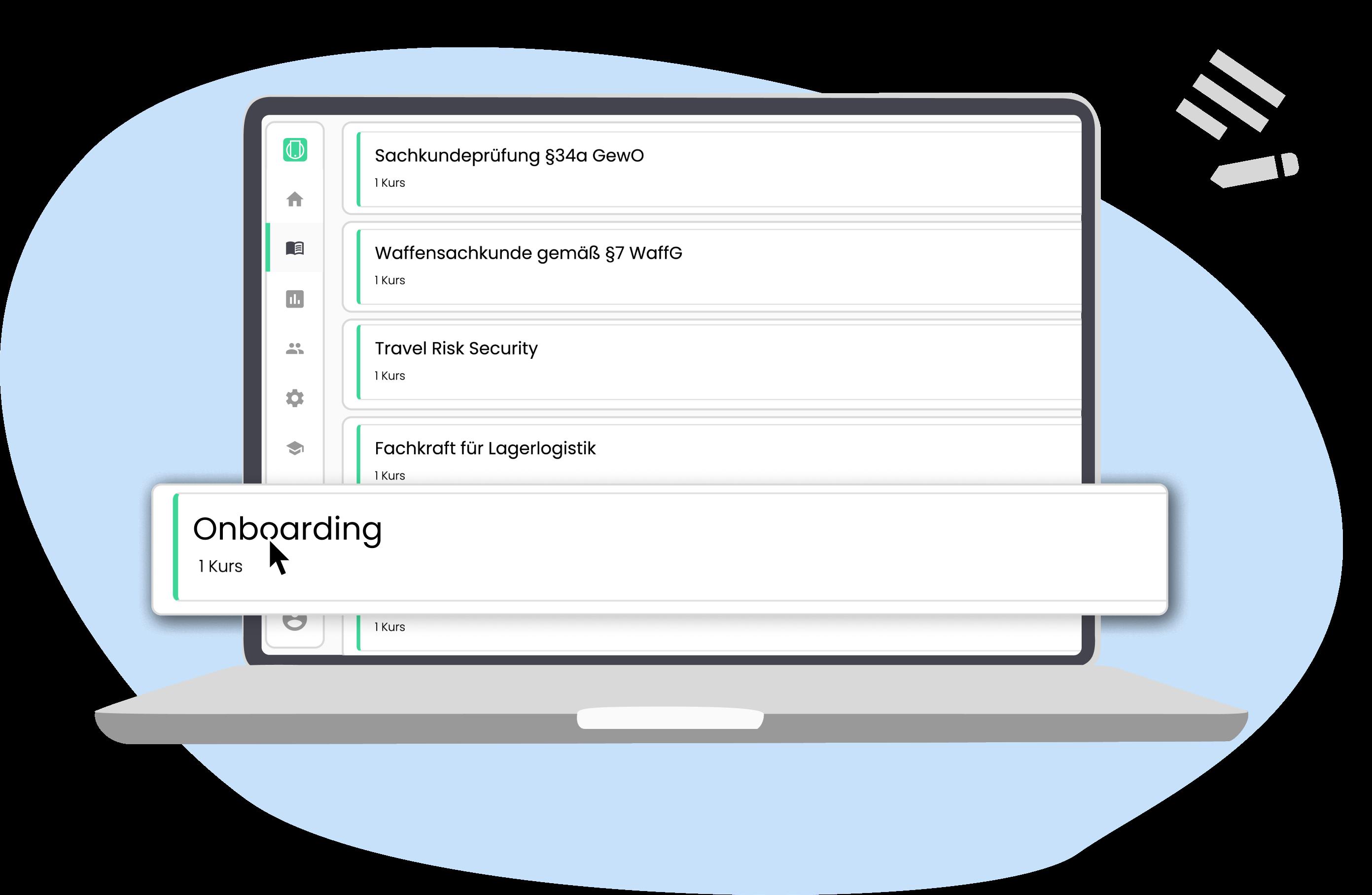 Intuitives Autorentool für die einfache Einarbeitung von Inhalten