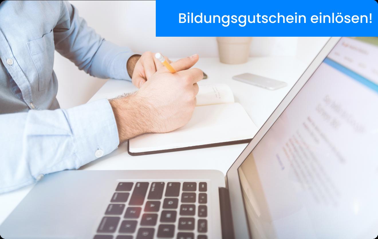 Bildungsgutscheine einlösen und AZAV zertifizierte Sachkundeprüfung §34a GewO ablegen