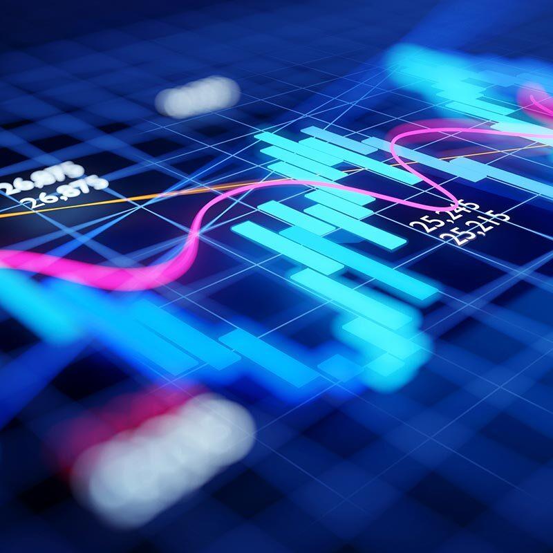 Financial Chart Visual