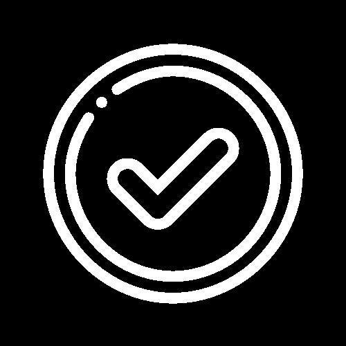 7 Operations - Tick Icon white