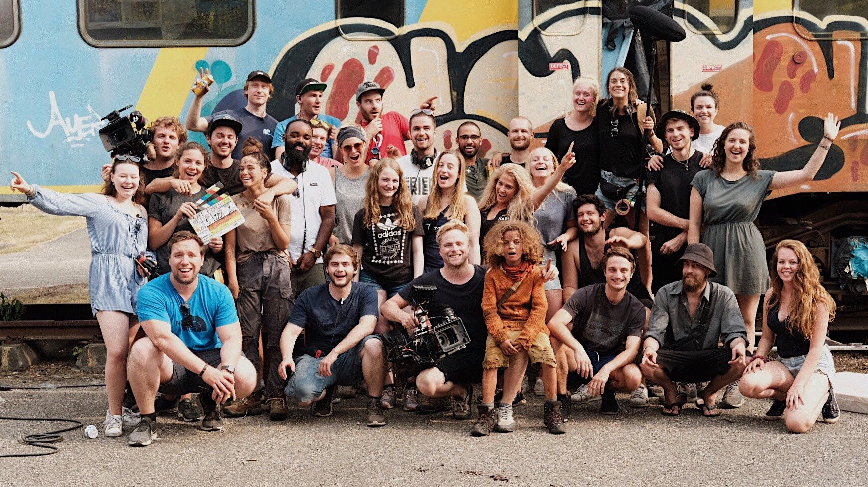 Crew photo the safe haven project