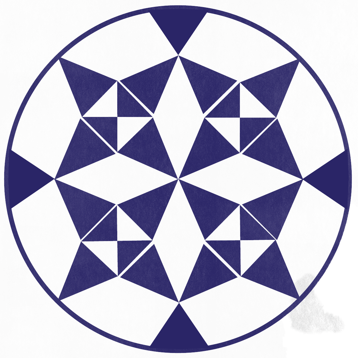A kaleidoscope like image showing transformation as a core value.
