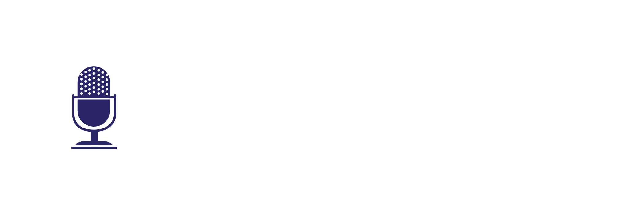 An illustration of a microphone to show the speaking services offered by GLDev.