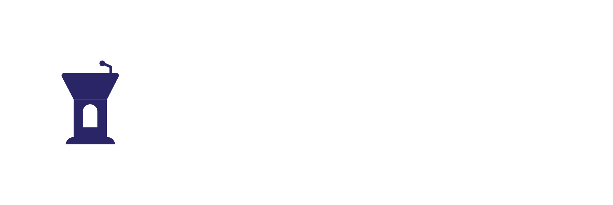 An image of a podium with a small microphone showing the service of leading seminars that GLDev offers.
