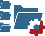 Manupatra research_folders and cog icon