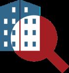 Manupatra search optimized- lense and data icon
