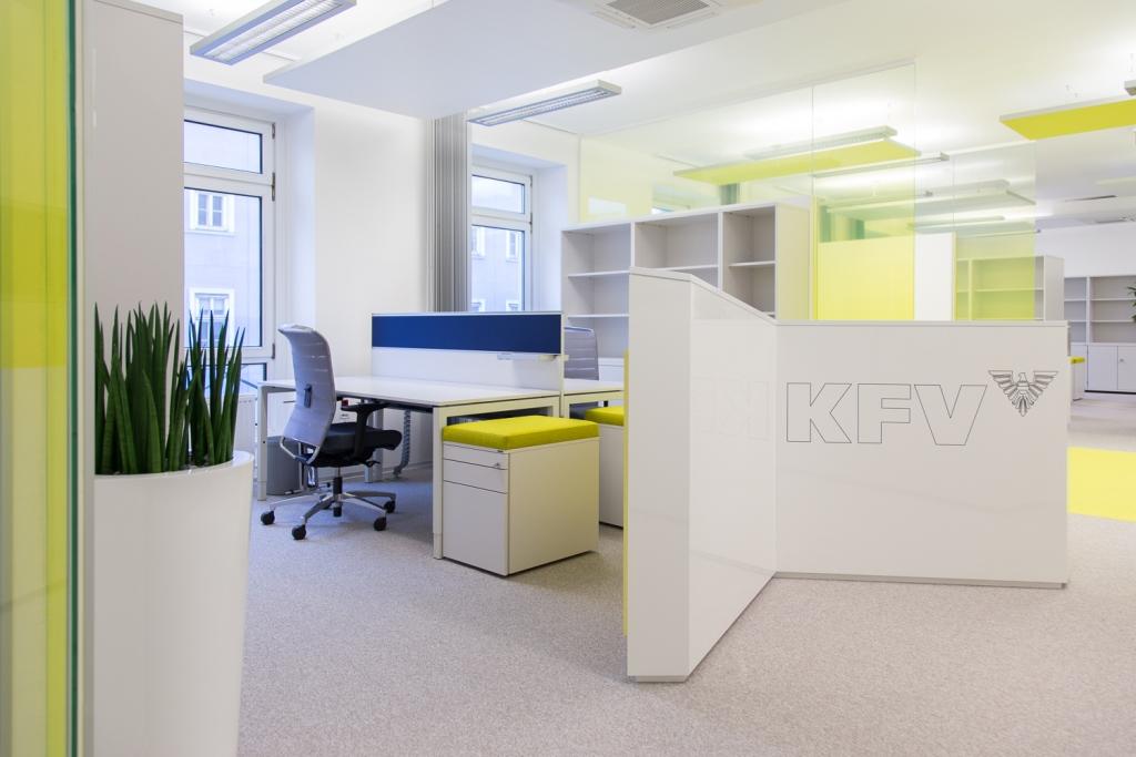 Foto vom Bürobereich des KFV
