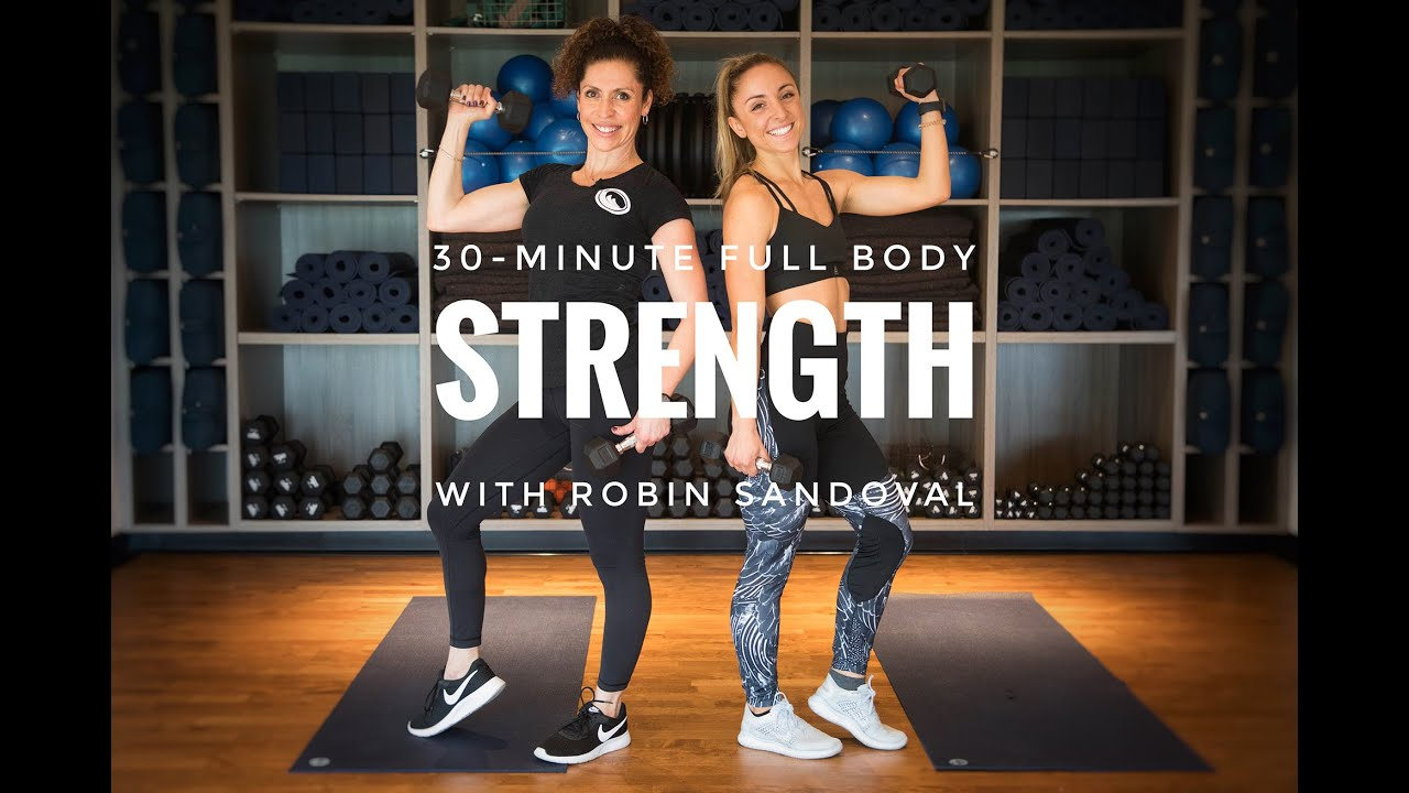 30-minute Full Body Strength with Robin Sandoval