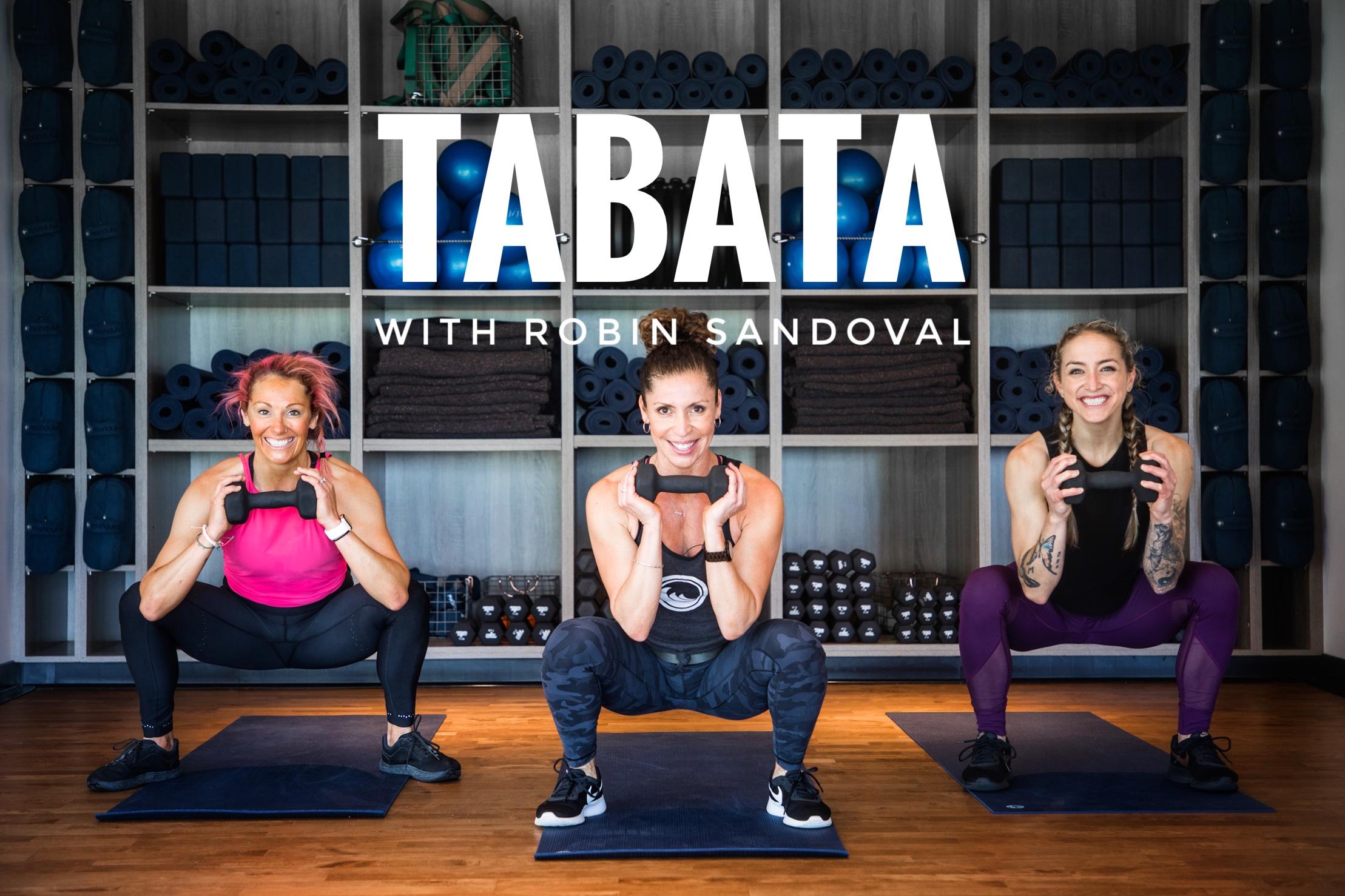 Tabata with Robin Sandoval