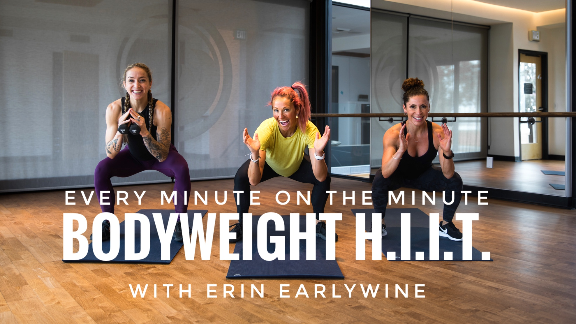 E.M.O.M. Bodyweight H.I.I.T. with Erin Earlywine