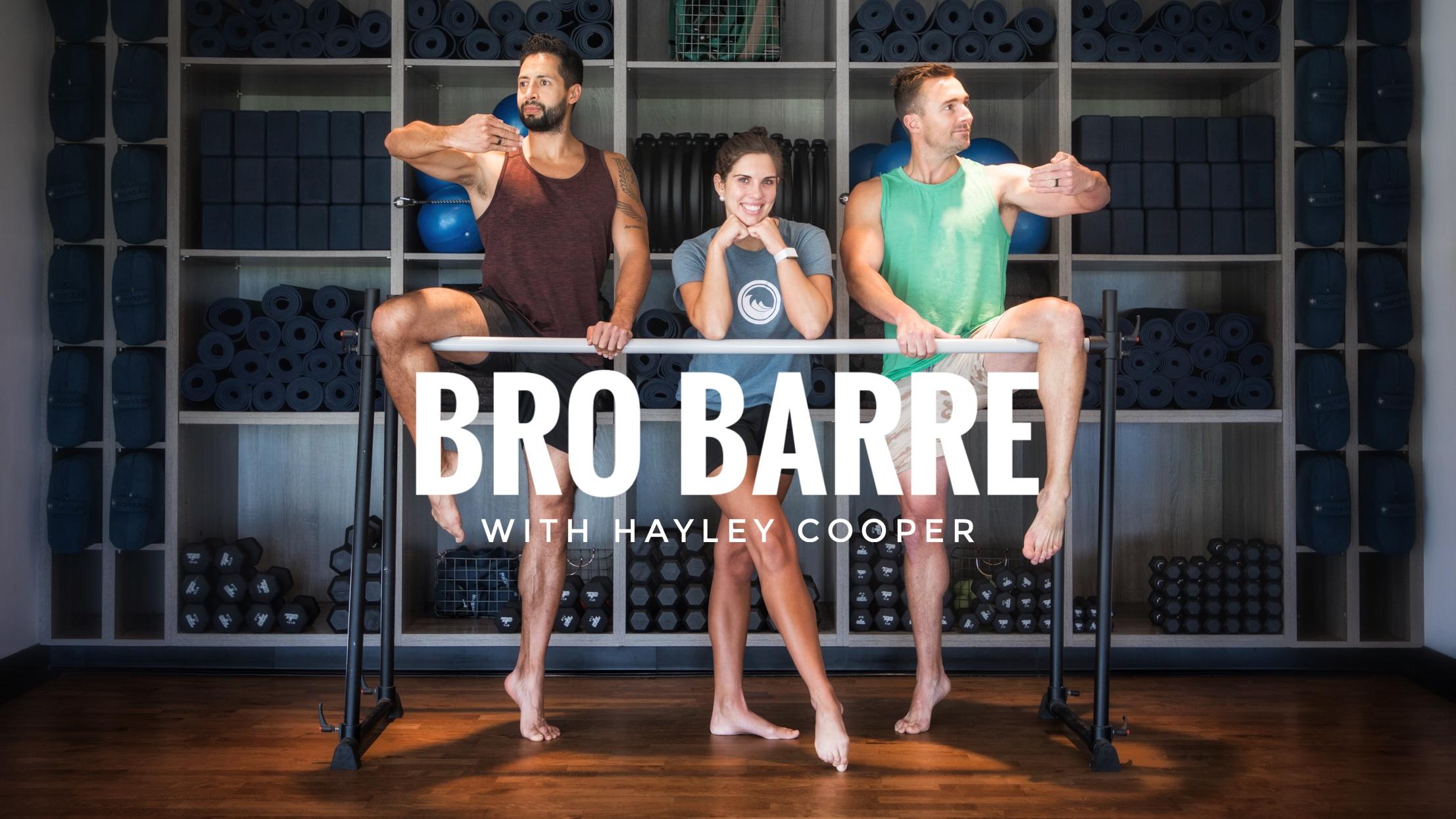 Bro Barre with Hayley Cooper