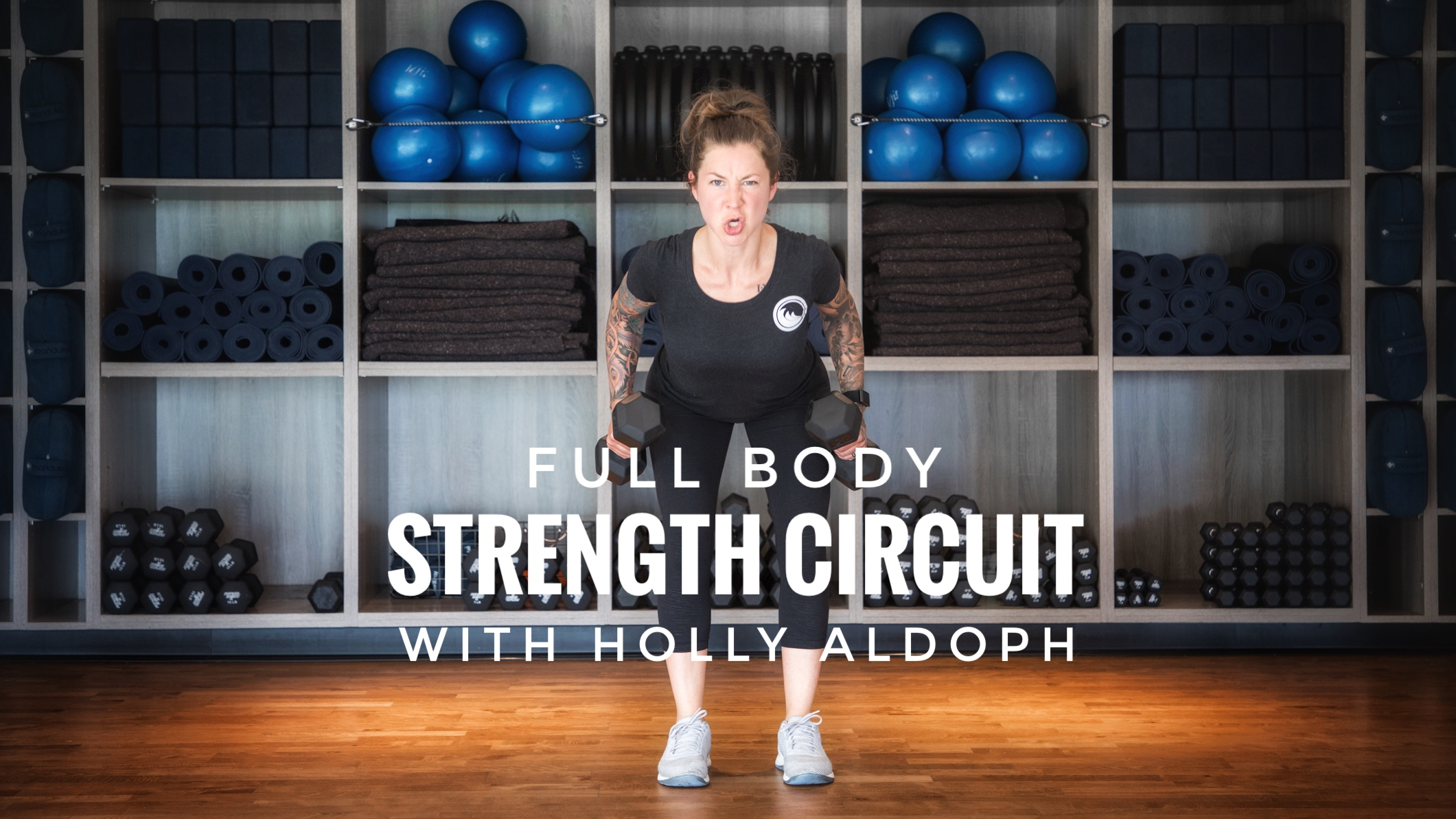 Full Body Strength Circuit with Holly Aldoph